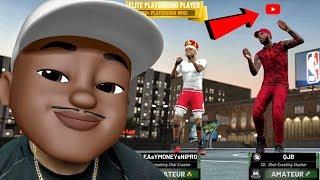 MEMOJI QJB GETS VERIFIED ON THE PARK! NBA 2k19 MyPark Gameplay Ep. 3