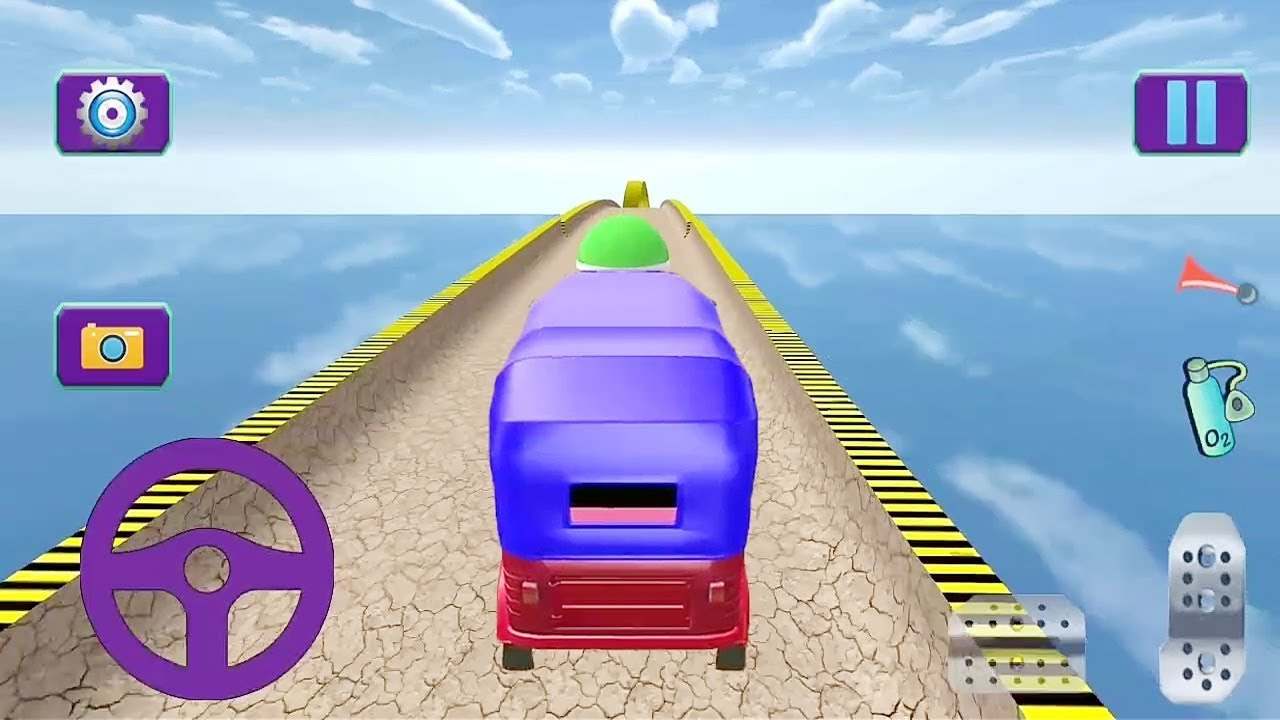 Indian Auto Rickshaw Superfast Driving Game || Tuk Tuk Auto Rickshaw Game || Auto Rickshaw Racing 3D