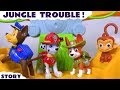Paw Patrol Jungle Trouble as DC Comics Toys Prank the Pups, Tracker to the Rescue Full Episode