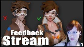 Feedback stream! Июльский разбор работ