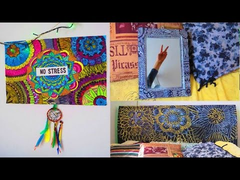 Ideas para decorar tu habitaci n con mandalas youtube for Ideas para decorar habitacion hippie