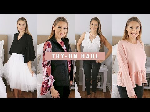 Try-On Haul: J. Crew Factory + Charlotte Russe
