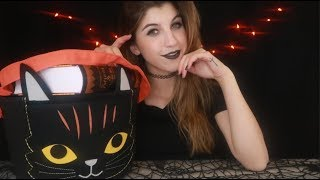 ASMR Halloween Show & Tell ~ Tapping, Scratching, Tracing