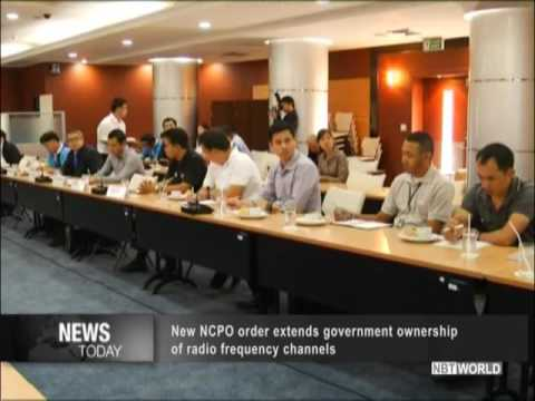 New NCPO order extends government ownership of radio frequency channels