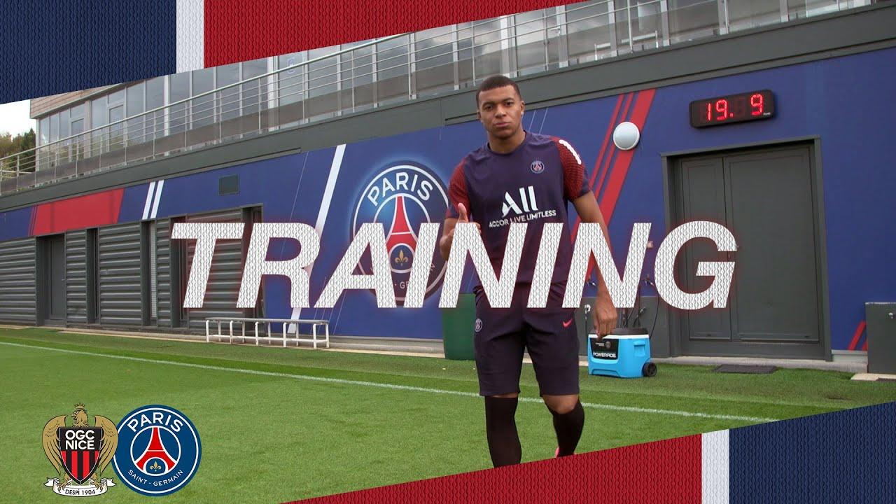 ⚽️ TRAINING SESSION 💪 Avant OGC Nice 🆚  Paris Saint-Germain