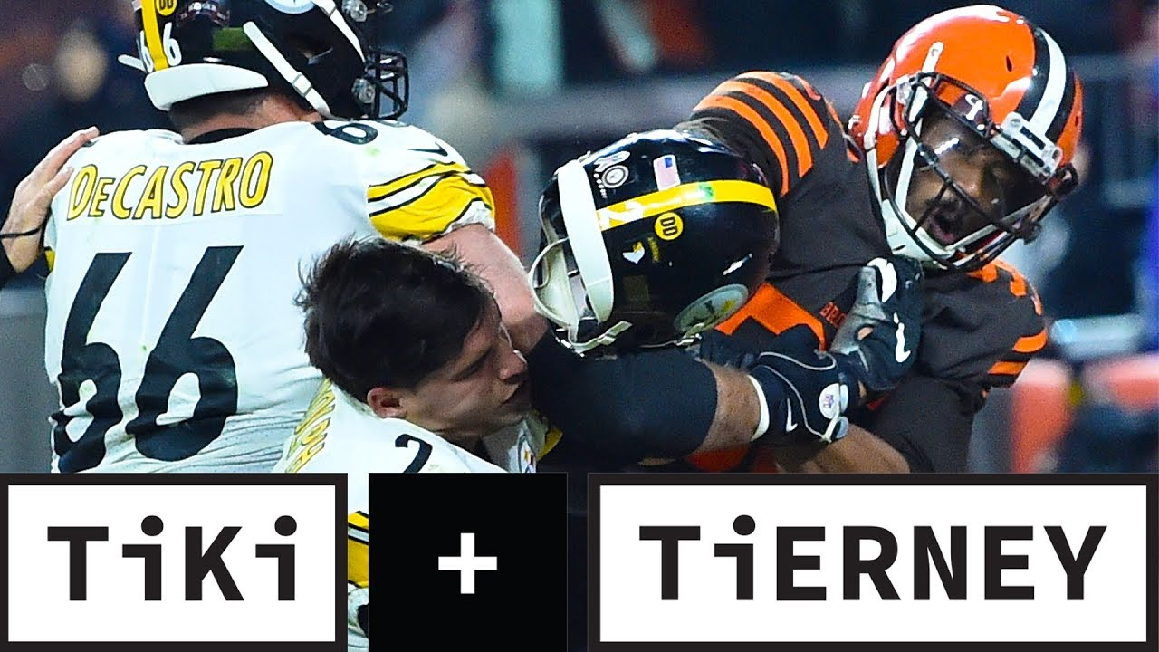 Myles Garrett SNAPPED And Crossed The Line | Tiki + Tierney - CBS Sports
