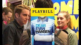 Dear Evan Hansen Cast Visits Bette Midler in Hello Dolly! Mind Blown! - 05/24/17