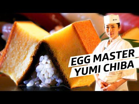How Master Sushi Chef Yumi Chiba Perfected Tamago — Omakase Japan