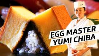 How Master Sushi Chef Yumi Chiba Perfected Tamago - Omakase Japan