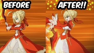 【FGO】ネロ・クラウディウス新旧比較版【FateGO】Nero Claudius Before/after【Fate/Grand Order】