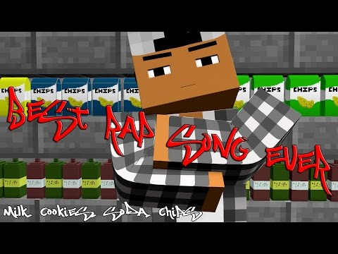 BEST RAP SONG EVER Ft. DashieXP [Minecraft Animation] - Milk, Cookies Soda