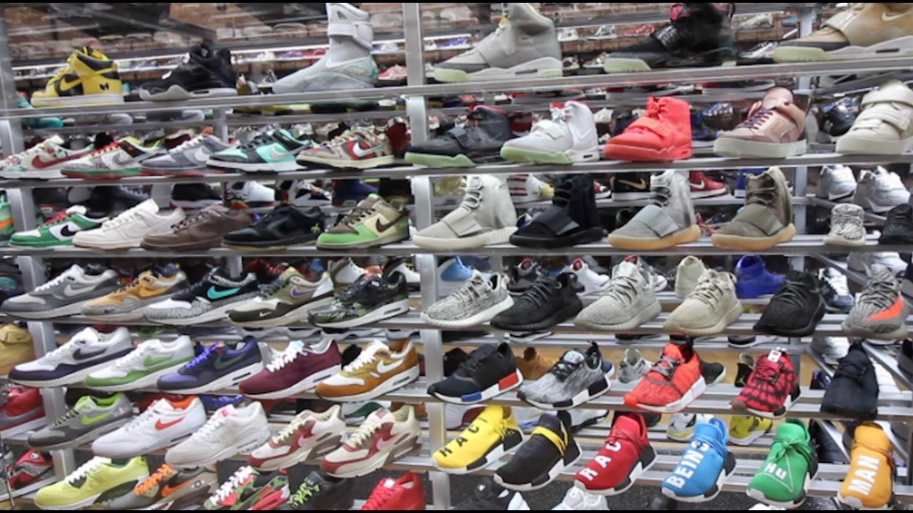 b1a5b73631 SNEAKER SHOPPING IN NEW YORK CITY!!! (Flight Club, NikeTown, and MORE!!) -  YouTube