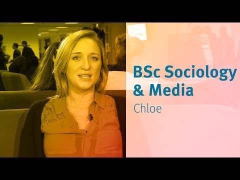 Media Studies and Sociology at City University London: student views - Chloe