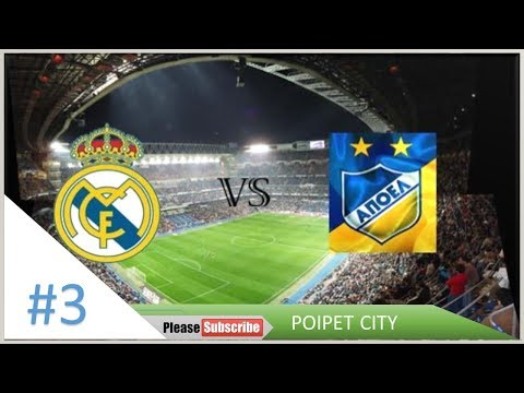 UEFA Champoins League - Real Madrid Vs Apoel FC - PC Gameplay #3