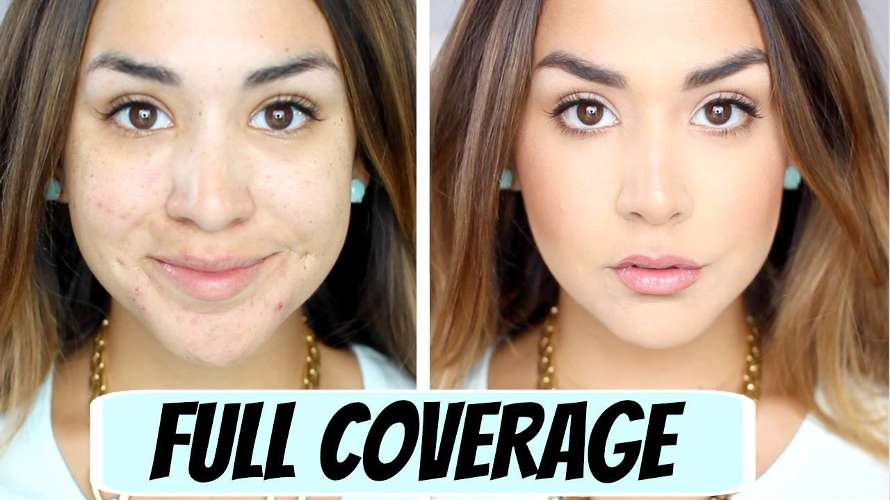 How to Apply a Full Coverage Foundation