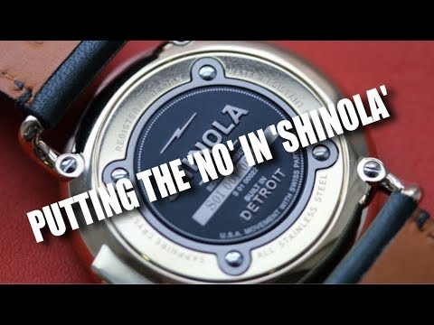 Shinola Watches: A Confusing Waste Of Money