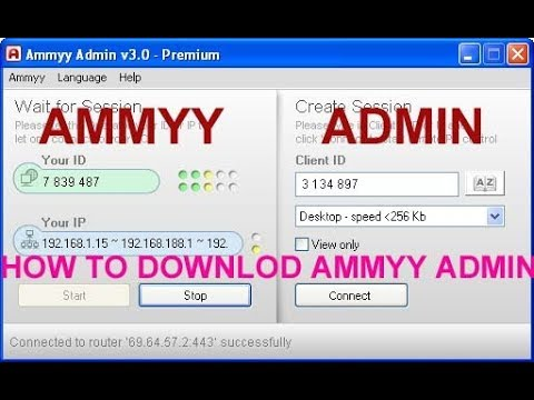 ammyy admin 3.0 download for windows 7