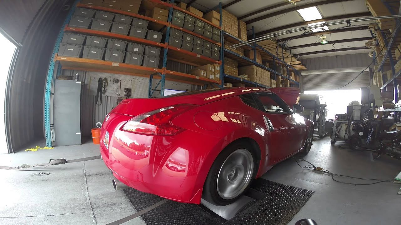 Z1 Headers on 7AT 370Z 324rwhp