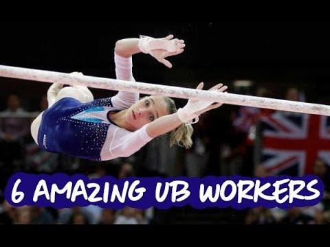 6 Amazing Uneven Bars Workers - Gymnastics
