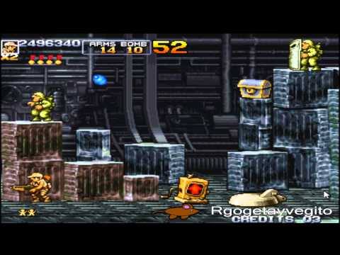 Metal Slug 4 All missions/Todas las misiones
