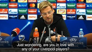 Jurgen Klopp Has Patience Tested In Chaotic Spartak Moscow Press Conference