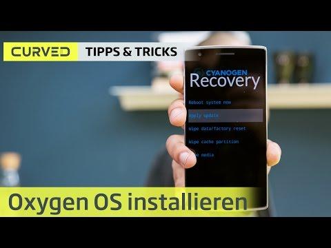 Oxygen OS installieren   deutsch