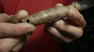 Опыт № 191 нож Хищник 2 сталь D2 Ясный Сокол Павлово