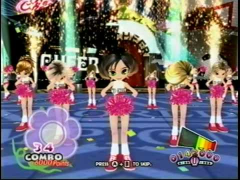 Nintendo Wii WE CHEER  PLAY perfect day