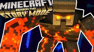 WHAT LIES BELOW THE BEDROCK!? Minecraft Story Mode Season 2 Episode 4