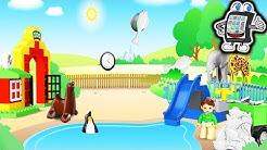 LEGO DUPLO Mini Spiele 2 App deutsch | PINGUIN FÜTTERUNG im Zoo und BALLSPIEL