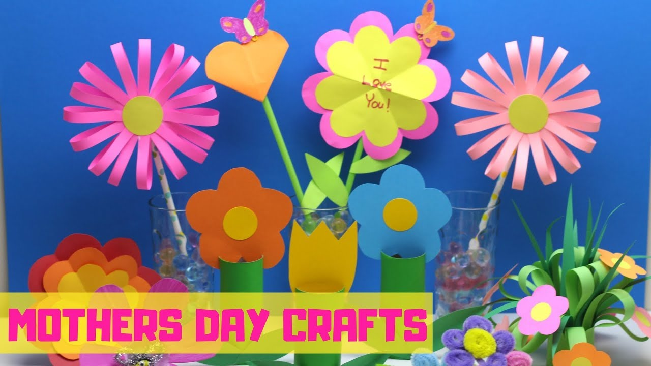 mothers day craft ideas for children mothers day crafts for flower craft ideas 7832