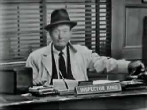 """Rocky King; Detective"" ~ ""The Hermit's Cat"" (1950's TV crime show)"