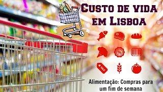 Custo de Vida em Lisboa - Alimentação
