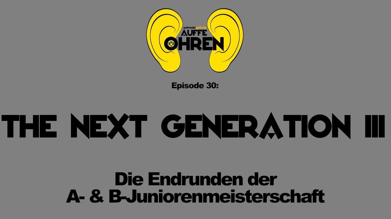 Auffen Punkt #30: The next Generation III | BVB Podcast von schwatzgelb de