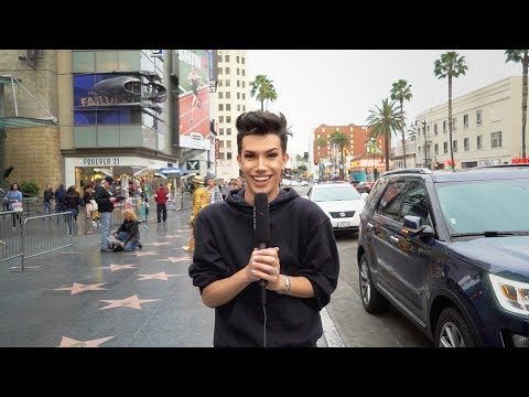 STRANGERS DO MY MAKEUP ON HOLLYWOOD BOULEVARD