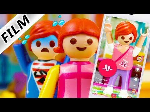 Playmobil Film Deutsch PEINLICHES MUSICAL.LY VON JULIAN! ER LIEBT DEN BARBIE GIRL SONG Familie Vogel