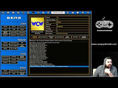 TEW 2016 Gamer's Journal: Rewriting Wrestling History (1997 MOD) Episode One (11-1-97)