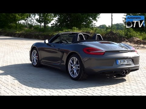 2013 porsche 981 boxster s 315hp drive sound 1080p. Black Bedroom Furniture Sets. Home Design Ideas