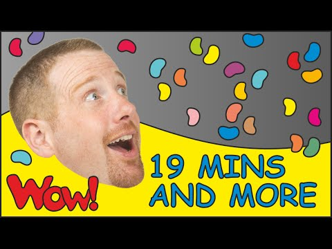 Thumbnail: Ice Cream for Kids + MORE | Children´s Songs Collection| 19 Minutes esl Compilation Steve and Maggie