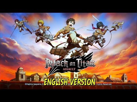 [Android/IOS] Attack On Titan: Assault - English Version Gameplay
