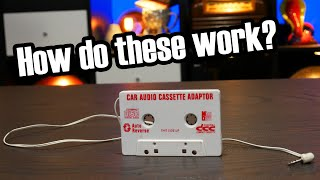 Cassette adapters are remarkably simple