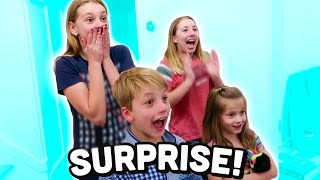 Kids React to SURPRISE PUPPY!!