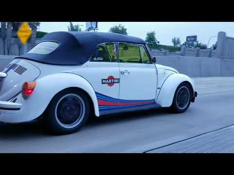 San Diego Air Cooled VW super beetle bug