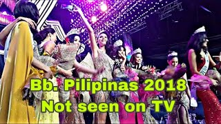 Not seen on TV: Bb. Pilipinas 2018 coronation night (audience view)