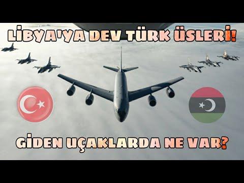 Libya'ya Dev Türk Üssü! Giden Uçaklarda ve Gemilerde Ne Var? Yeni Gönderilenler