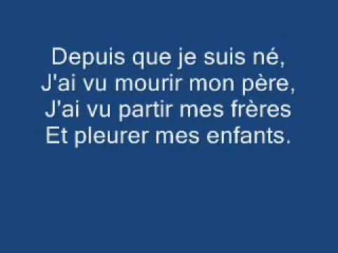 le deserteur lyrics