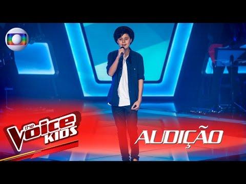Iago Iha canta 'When I Was Your Man' na Audição – The Voice Kids Brasil | 2ª Temporada
