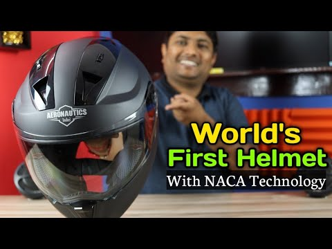 Steelbird SA-1 World's First Helmet With NACA Duct Airflow Technology | Unboxing & Riding Test