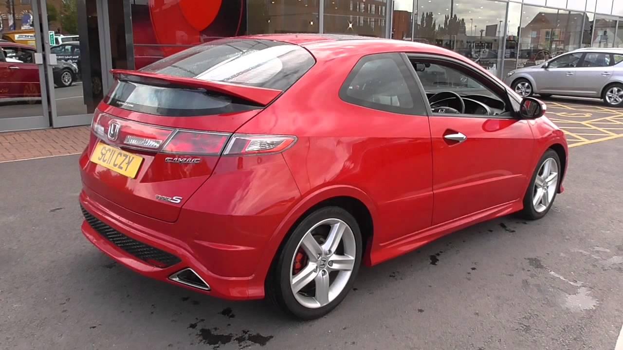 Honda Civic 1 8 I Vtec Type S Gt 3dr U18536 Youtube