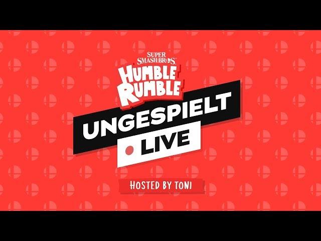 #ungeklickt + HUMBLE RUMBLE - SMASH TURNIER 🔴 LIVE